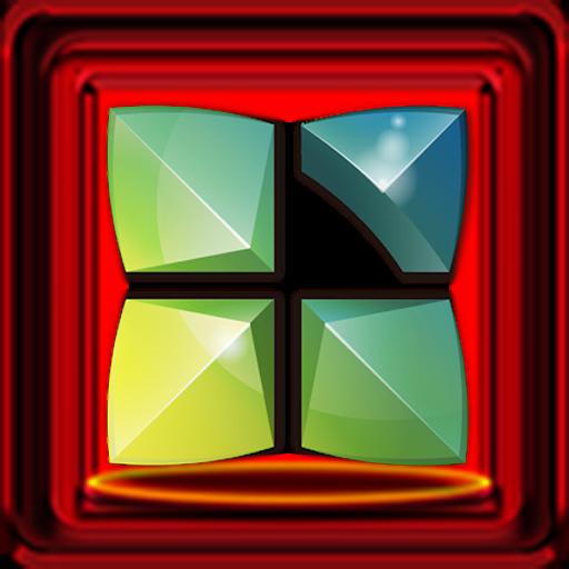 Next Launcher 3D Red Box Theme