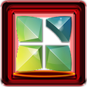 Next Launcher 3D Red Box Theme icon