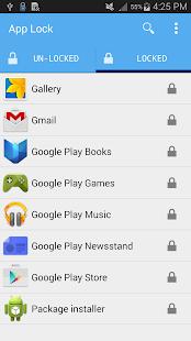 app lock APK for Bluestacks