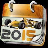 Calendar for Formula 1™ 2015