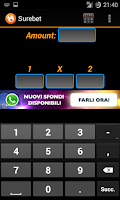 Screenshot of Arbitrage betting