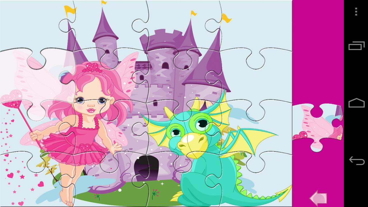 Kids Puzzle Princess Lite- screenshot
