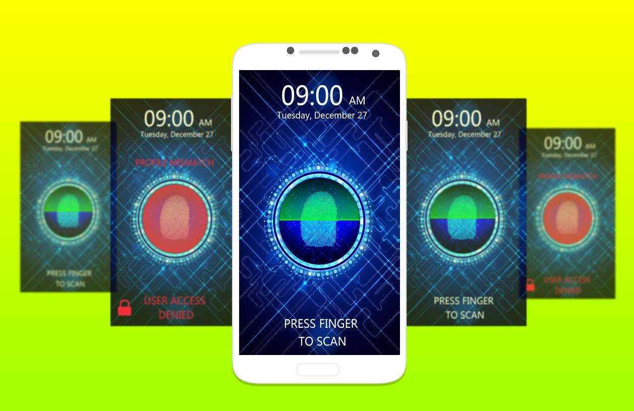 Camera Printers That Work With Android Phones fingerprint lock screen prank android apps on google play screenshot