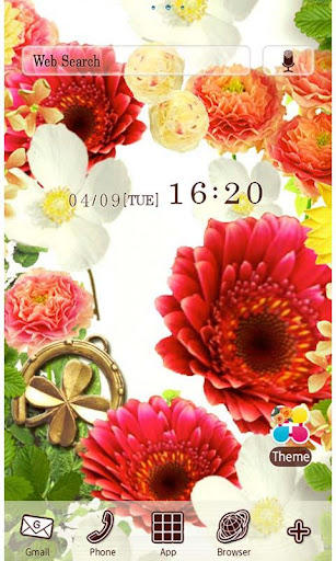 Blooming Bouquet Wallpaper 1.3 Windows u7528 1