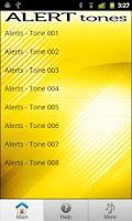 Screenshot of Free Alert Tones