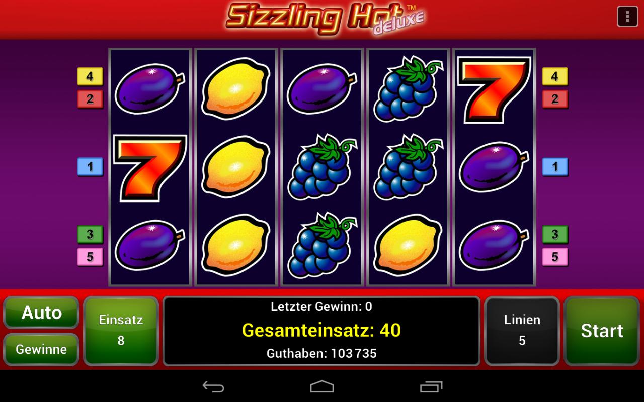 sizzling sevens free slots
