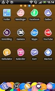 Sticker Go Launcher EX Theme