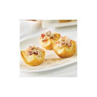 Apple Port Pastry Cups.