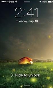 Firefly Lock Screen للأندرويد