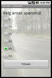 Norske Trafikkskilt - screenshot thumbnail