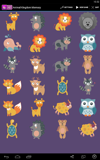 Animal Kingdom Memory
