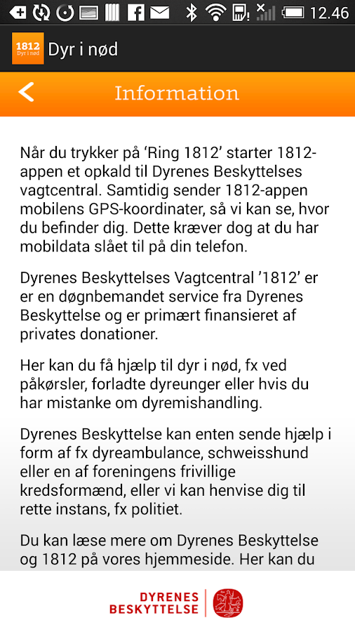 Dyr i nød- screenshot