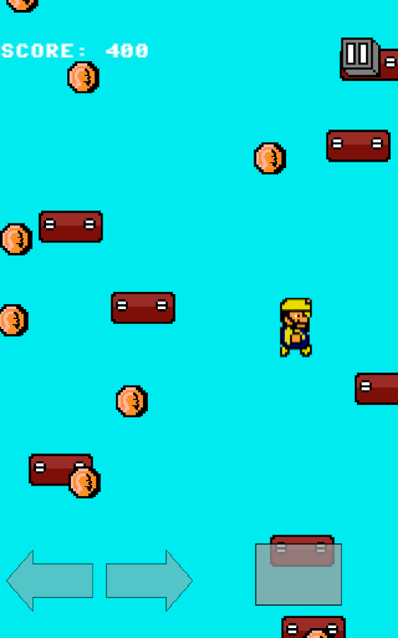 8-Bit Jump - Platform Game - screenshot