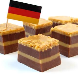 German Chocolate Cake Shots