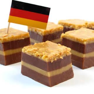 German Chocolate Cake Shots.