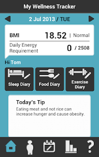 My Wellness Tracker HK- screenshot thumbnail