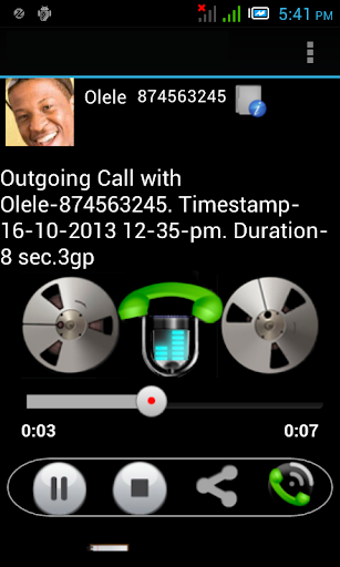 Automatic Call Recorder 2.2.3 screenshots 2