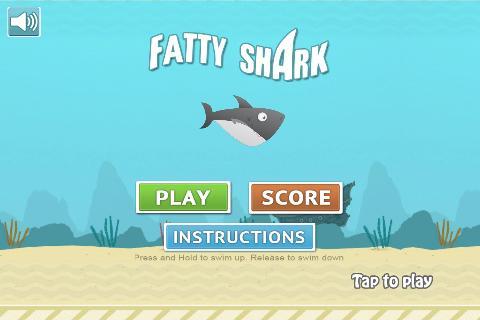 Fatty Shark Flappy Shark