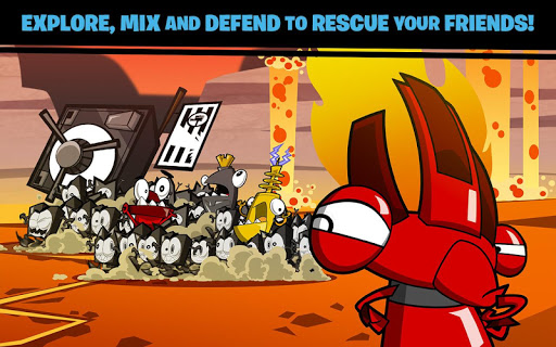Calling All Mixels ойындар (apk) Android/PC/Windows үшін тегін жүктеу screenshot