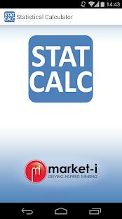 Statistical Calculator