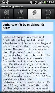 NiederschlagsRadar.de- screenshot thumbnail