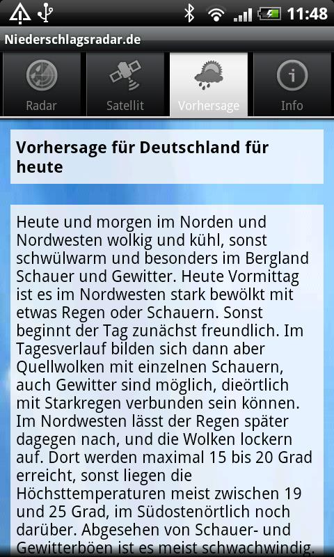 NiederschlagsRadar.de- screenshot