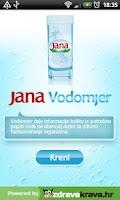 Screenshot of Jana Vodomjer
