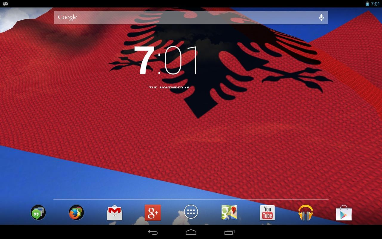 D Albania Flag Android Apps On Google Play - Albania flag