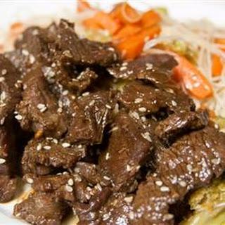 Awesome Korean Steak.
