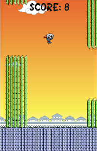 Flappy Ninja KAGE- screenshot thumbnail
