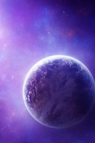 Universe Space 3D Wallpaper - screenshot