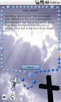 Screenshot of My Rosary