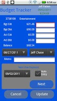 Screenshot of Budget Tracker