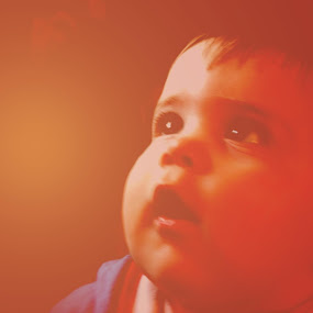 Looking up… by Bonnie Gleason-Echevarria - Babies & Children Children Candids