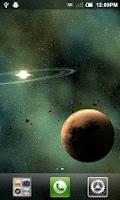 Screenshot of Rogue Planet LWP Basic