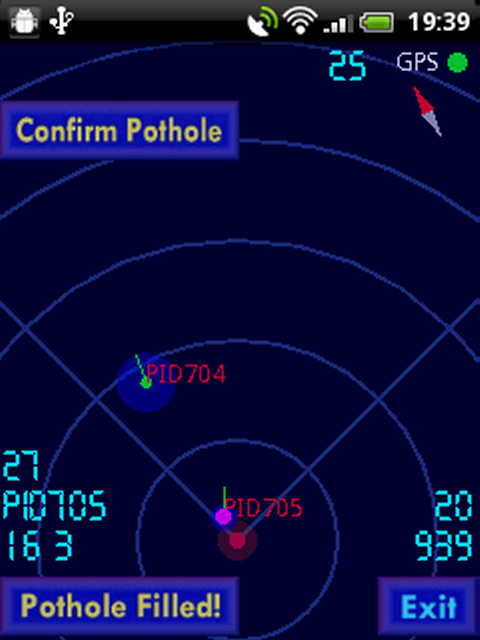 Pothole Radar- screenshot