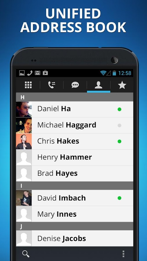 Talkatone free calls & texting - screenshot