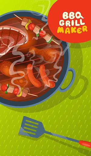 BBQ Grill Maker - Cooking Game  screenshots 13