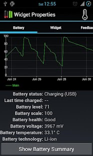 Dual Battery Widget- screenshot thumbnail