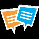 CZATeria - czat, chat online mobile app icon