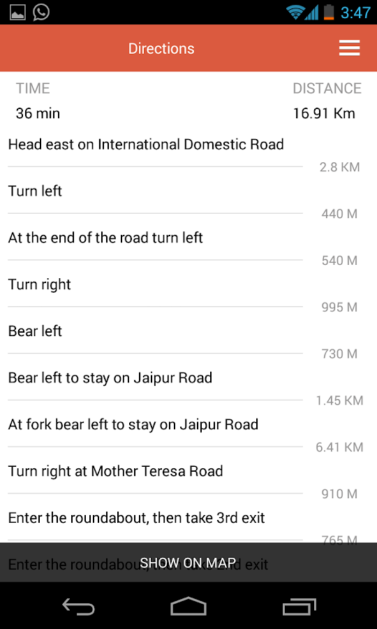 Maps by MapmyIndia - screenshot