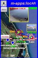 Screenshot of locAR Live Location Tracker