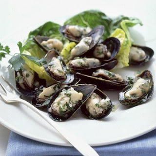 Mussels In Parsley Vinaigrette