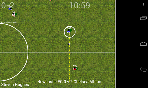 Soccer for Android (Lite) 1.35 screenshots 2