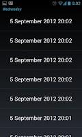Screenshot of Crypto Audio Diary
