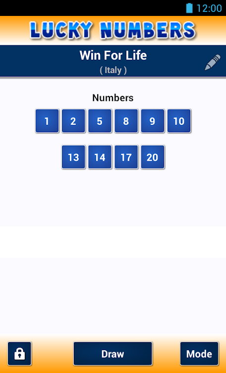 Lucky Numbers – (Android Applications) — AppAgg
