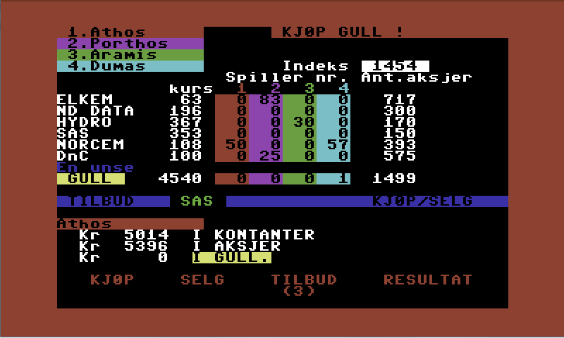 OsloBors- screenshot