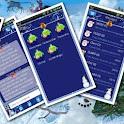 Christmas v2 GO SMS Theme logo