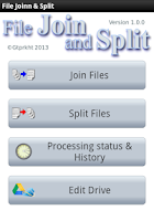 Screenshot of File Join and Split
