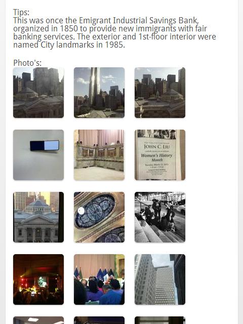 Landmark Finder - screenshot